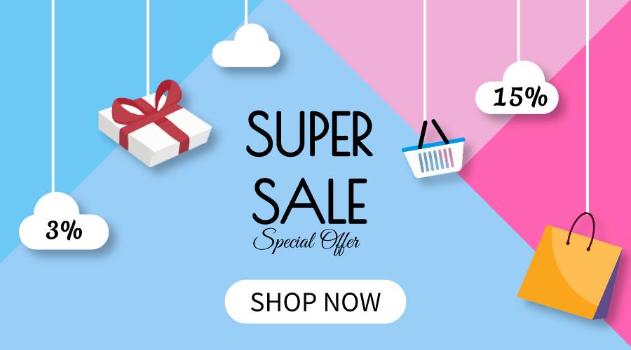 Super Sale 1/8 - 8/8