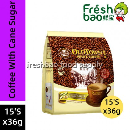 Oldtown White Coffee With Natural Cane Sugar 15'Sx36g
