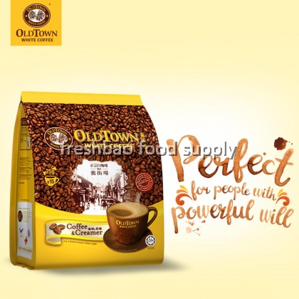 Oldtown White Coffee 2in1 Coffee & Creamer 15'Sx25g