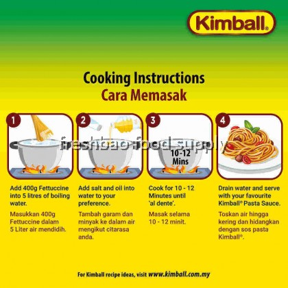 Kimball Pasta - Fettuccine 意大利扁宽面 400g