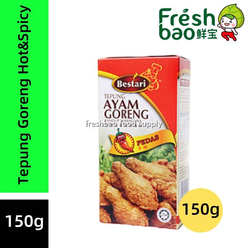 Bestari Tepung Ayam Goreng Hot Spicy 150g