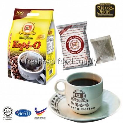 Kluang Coffee Cap Televisyen Black Kopi O Kosong 10gx100'S 居銮咖啡乌袋